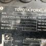 Вилочный погрузчик Toyota (32-8FG20)