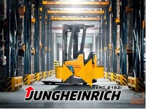 Электрический штабелер Jungheinrich ERC 216zi: легкий, компактный, безопасный и экологичный