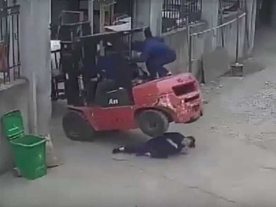 Правила техники безопасности при работе с погрузчиками